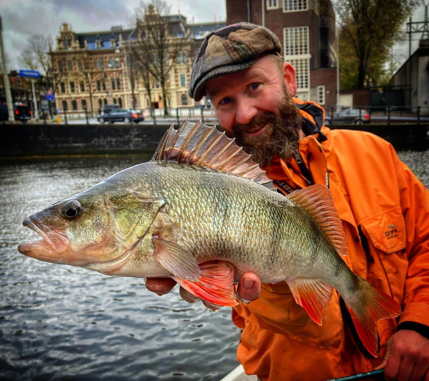 Guía de pesca Ruud van den Bosch